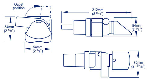 Whale - Elektrisk Lænsepumpe fra Whale - Supersub Smart med niveauvagt