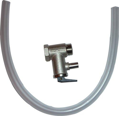 Quick - Sikkerhedsventil til varmtvandsbeholder