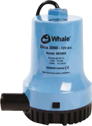 Whale - Elektrisk lænsepumpe fra Whale - Orca