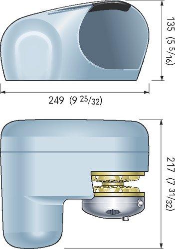 Quick - Ankerspil Genius GP2 Frit fald - kit
