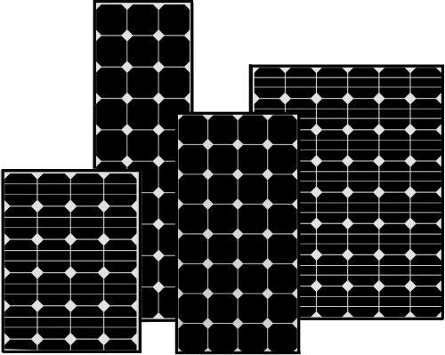 Solara - DC Solar SunPower, Aluminiumram