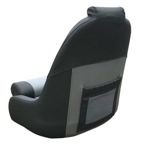 - Bådstol Recon Sport, Flip-up, grå/sort