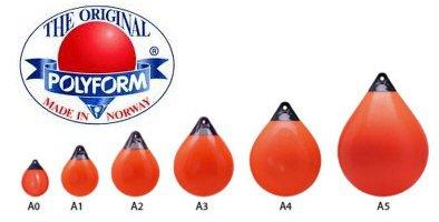 Polyform - Fortøjningsbøjer/Jordbærfender