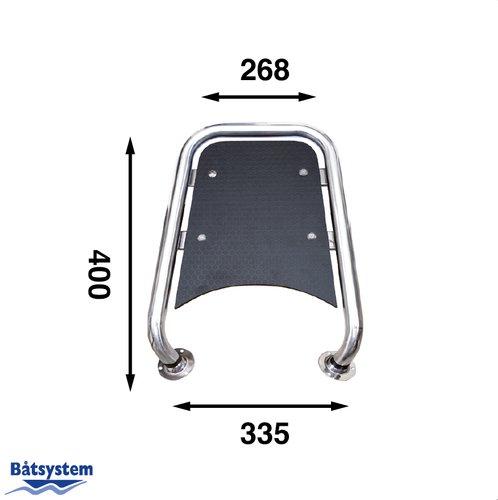 Båtsystem - Stævnplatform til motorbåd