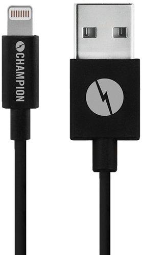 Champion (electronics) Ladd&synk kabel apple svart