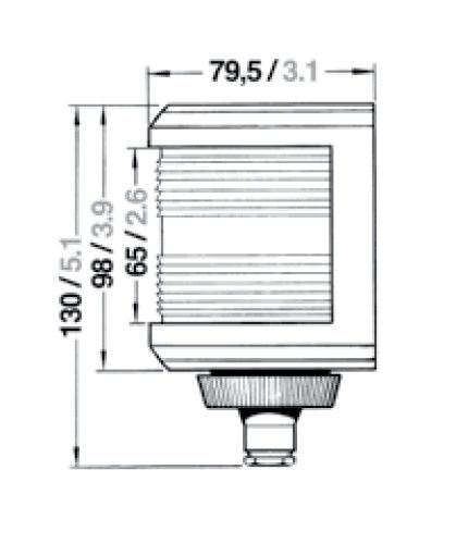 Aqua Signal - Lanterne Aqua Signal serie 40