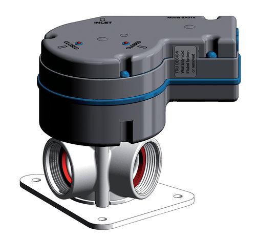Tru-design - Elektronisk Y-ventil 12V