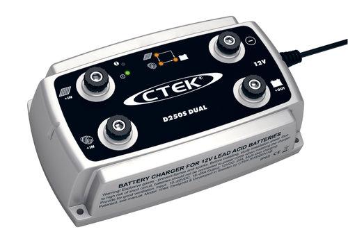 Ctek - Batterilader fra CTEK -  D250S Dual