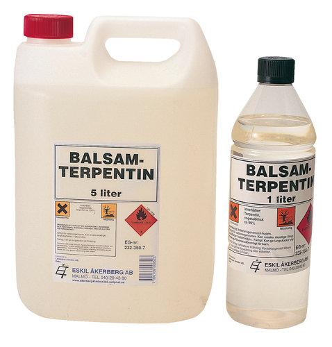 - Terpentin Balsam