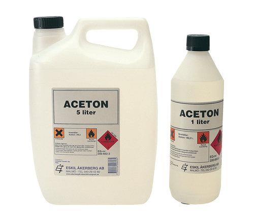 - Acetone