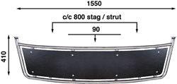 Båtsystem - Badplattform Blackline