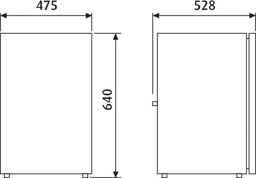 Dometic - Køleskab Waeco CRX-80
