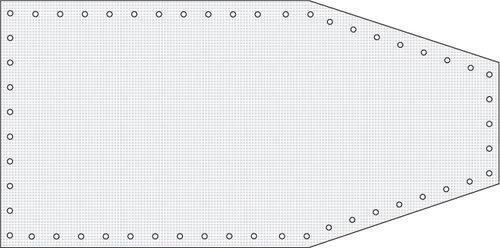 Watski - Formskuren Båtpresenning  240g/m2
