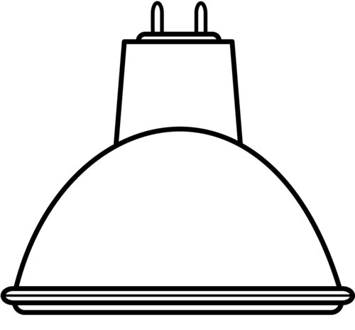 Halogenlampa mr11 12v 10w