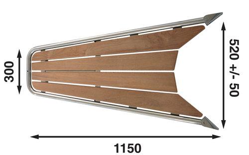 Båtsystem - Gennaker Platform for både