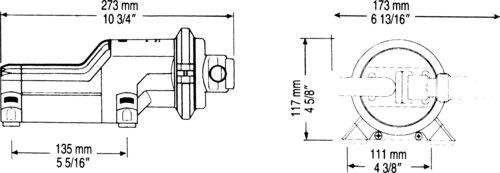 Whale - Gulper 220, bruse- og lænsepumpe