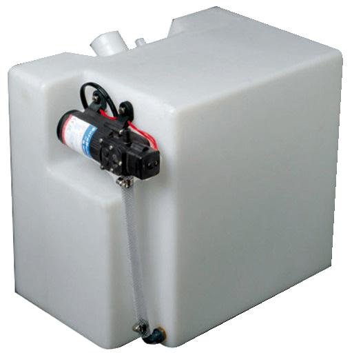 Osculati vattentank 32l med 12v tryckvattenpump