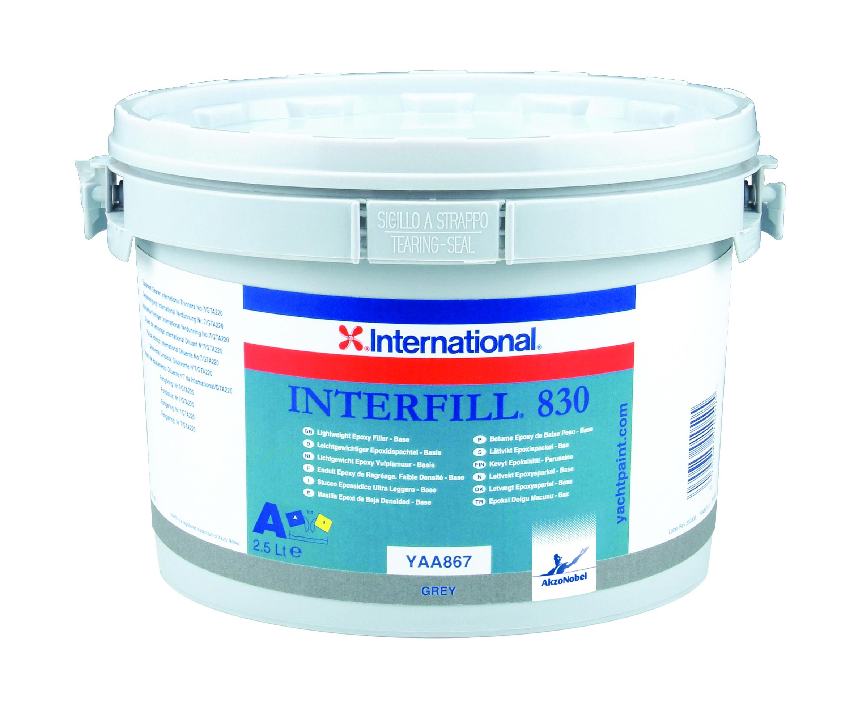 Interfill 830 epoxyfiller part a 25 l