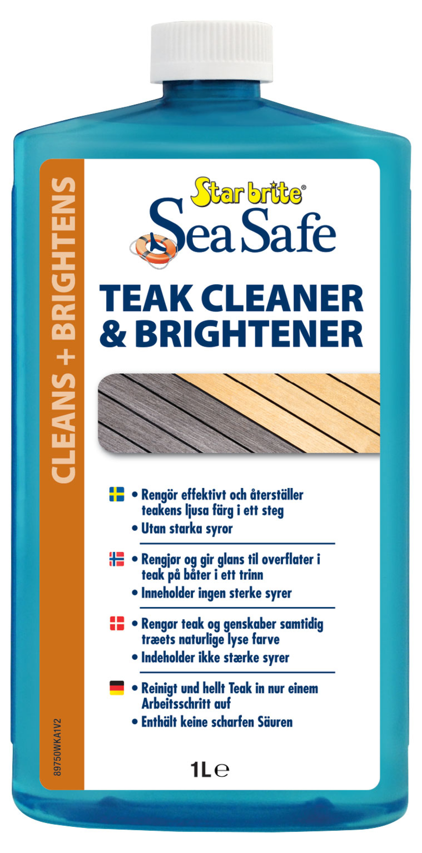 Starbright Sea Safe Teak Reiniger Aufheller Teak Pflege
