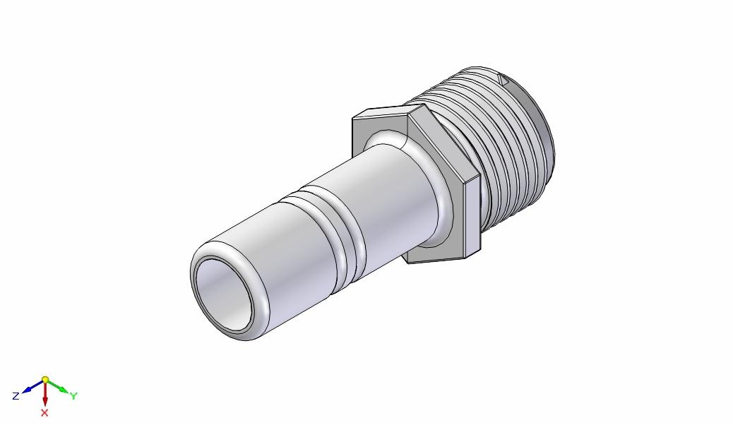 Adapter 1/2 hane – 15mm slangstuss