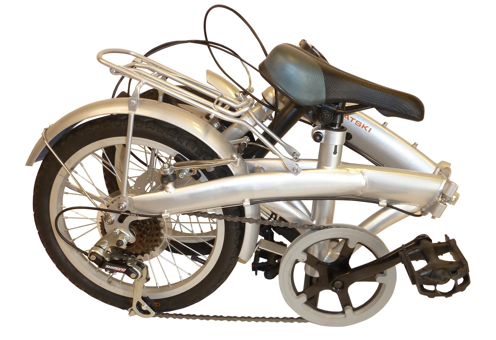 cykel 16 tommer thansen