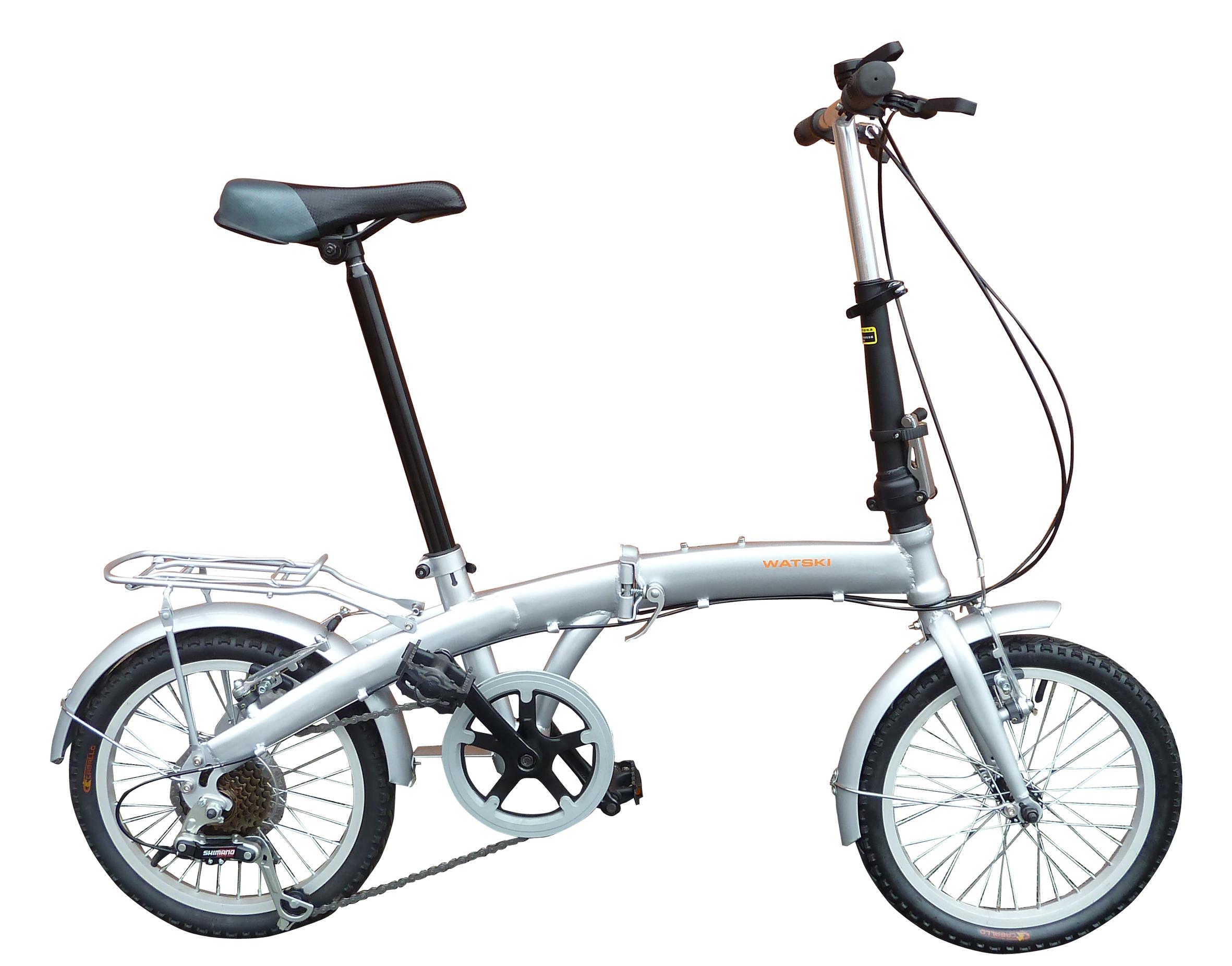 Cykel med 6 gear og 16'' tommer hjul - Cykler