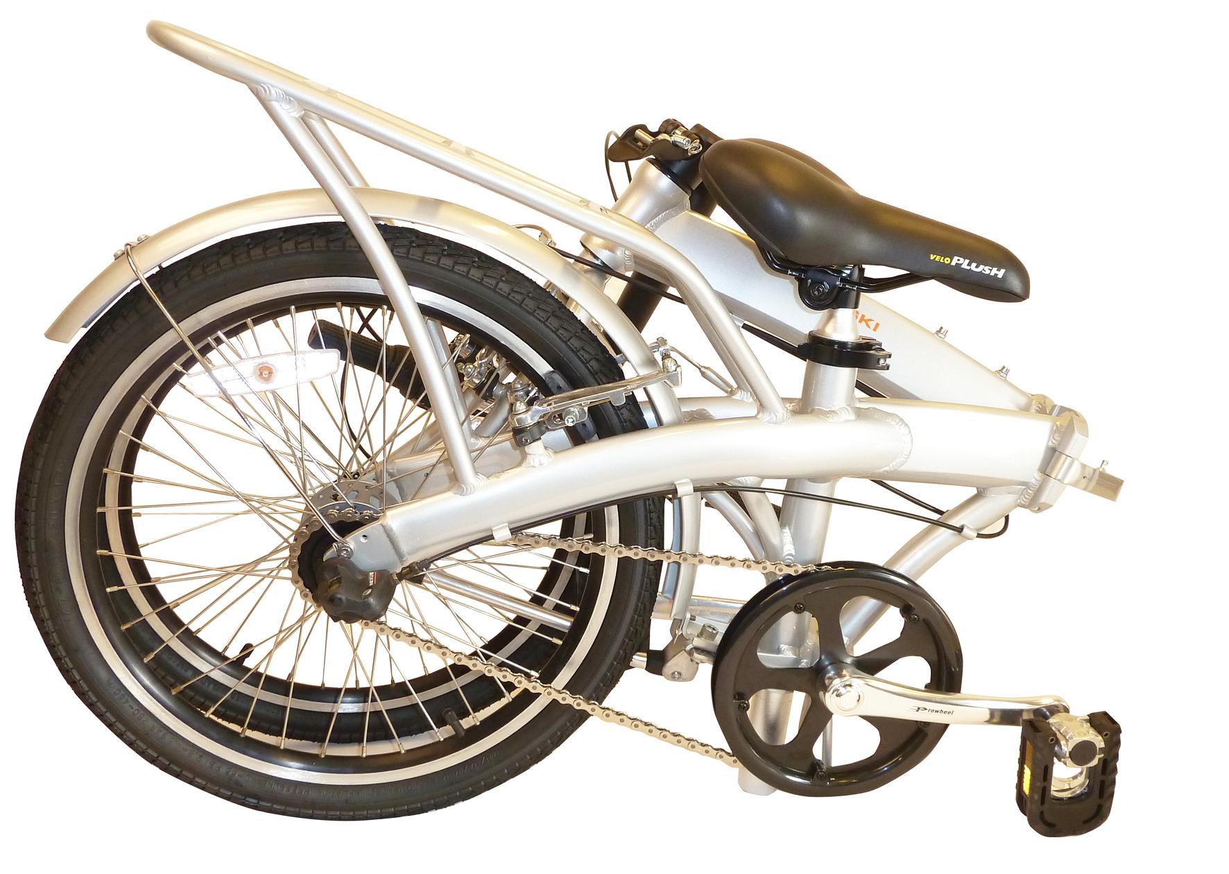 Cykel i aluminium med 3 gear og 20'' tommer hjul - Cykler