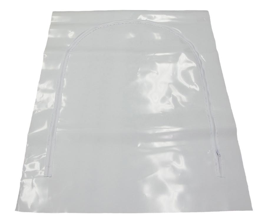 Dragkedjedörr i plast ds72 90x180cm