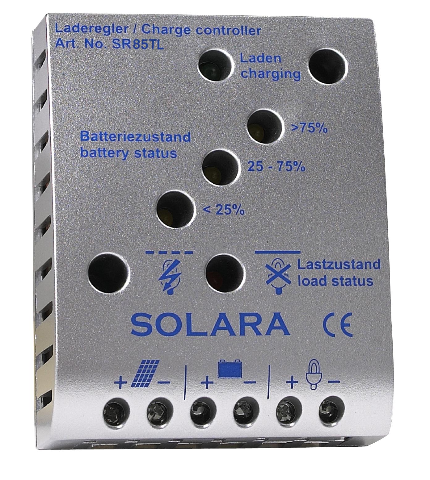 Solara regulator 5a sr85tl