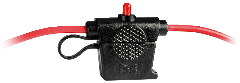 Säkr hållare osc v.tät 110mm kabl 3mm2