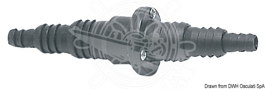Backventil osc 25/32/38 mm