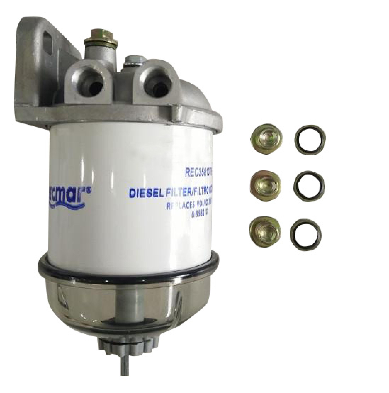 Rask Diesel brændstoffilter CAV - Volvo Penta CQ-98
