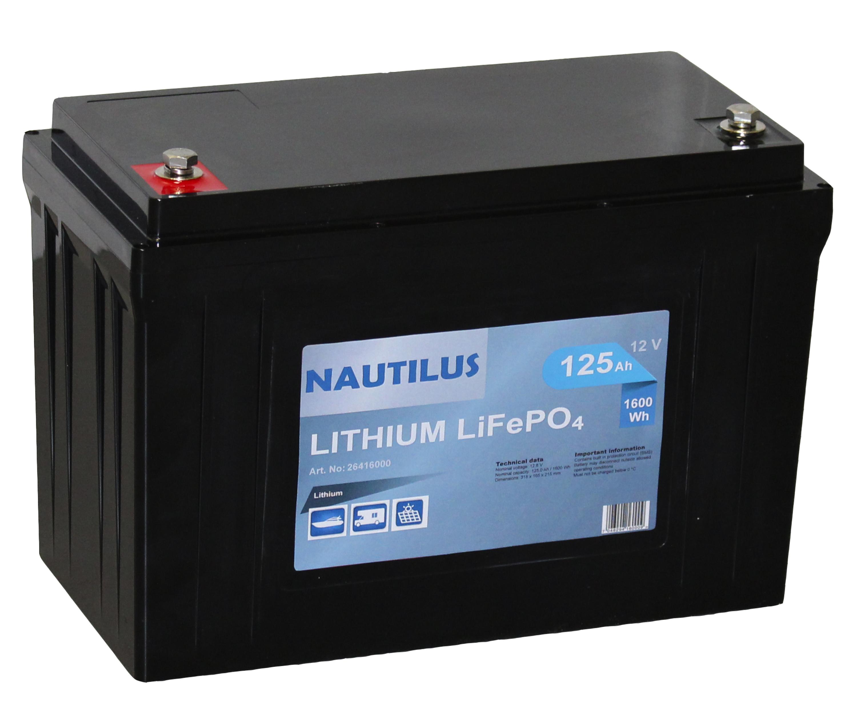 a8128e6b7 Lithiumbatteri Nautilus - Batterier - Marine og start