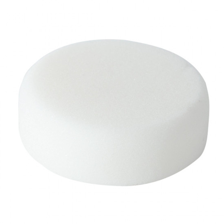 1852 professionel polerrondell vit hård ø163 mm t/dual act.