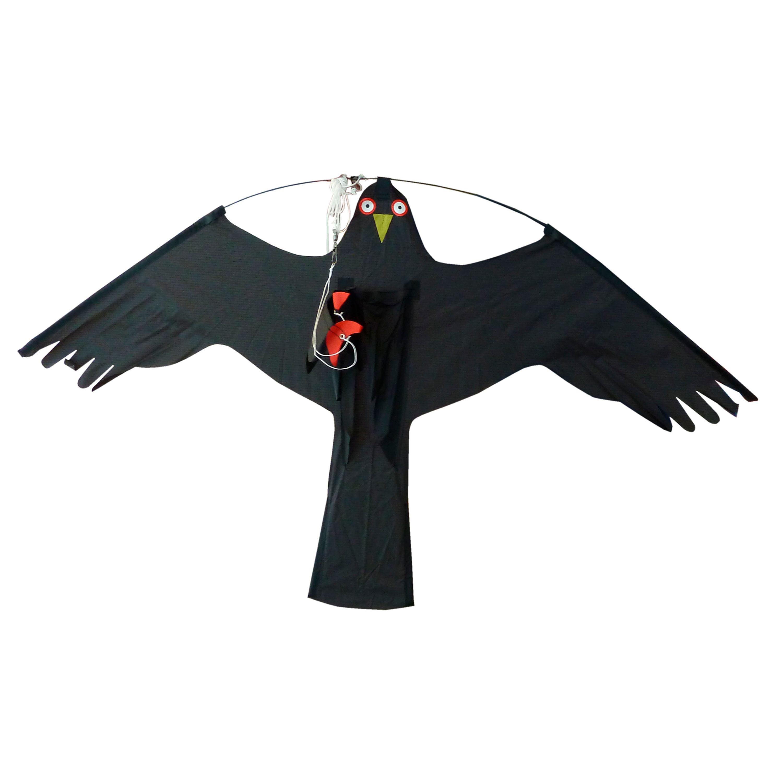 Fågelskrämma drake, kompl med 6m mast