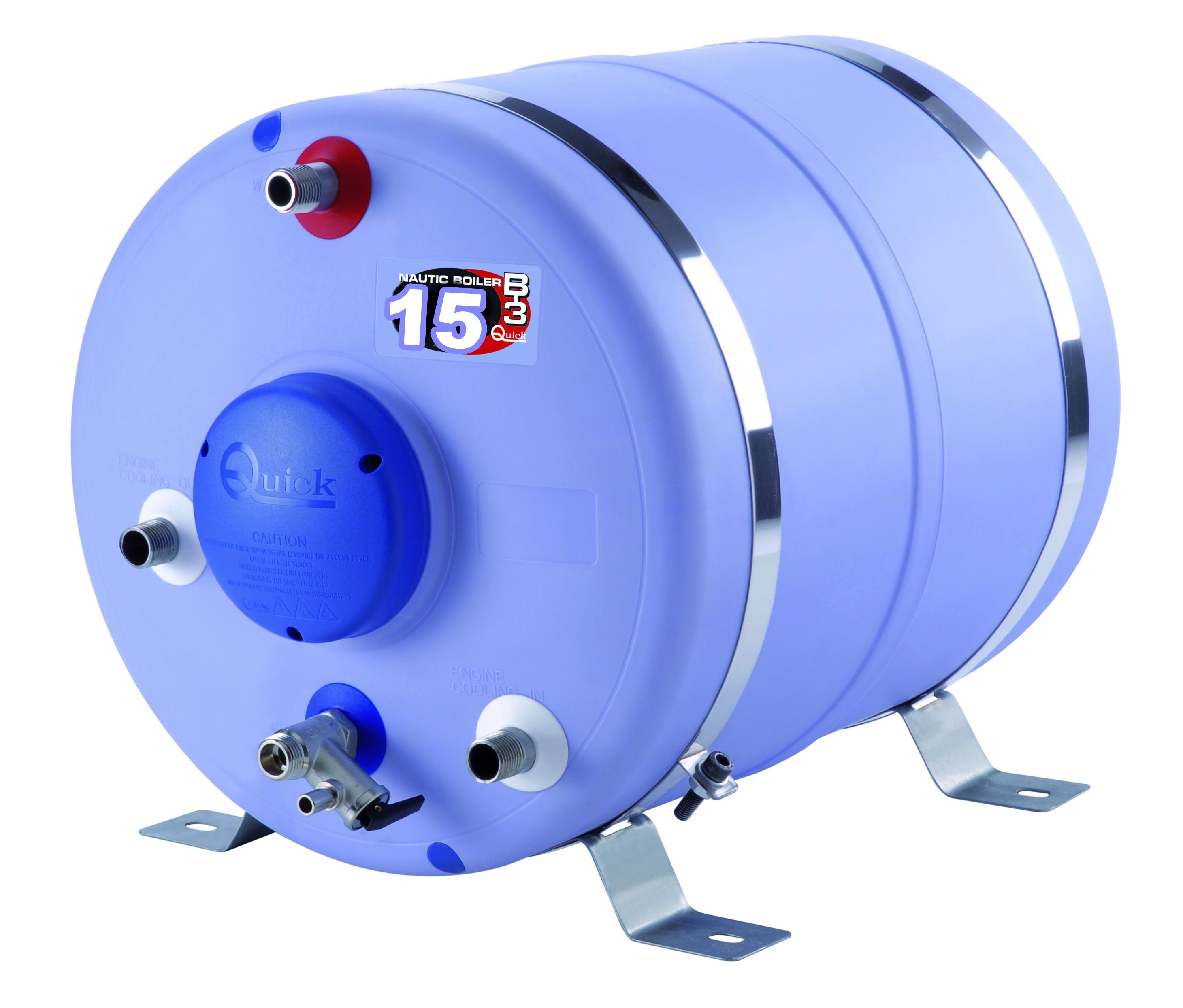 Varmvattenberedare 15 l cylindrisk