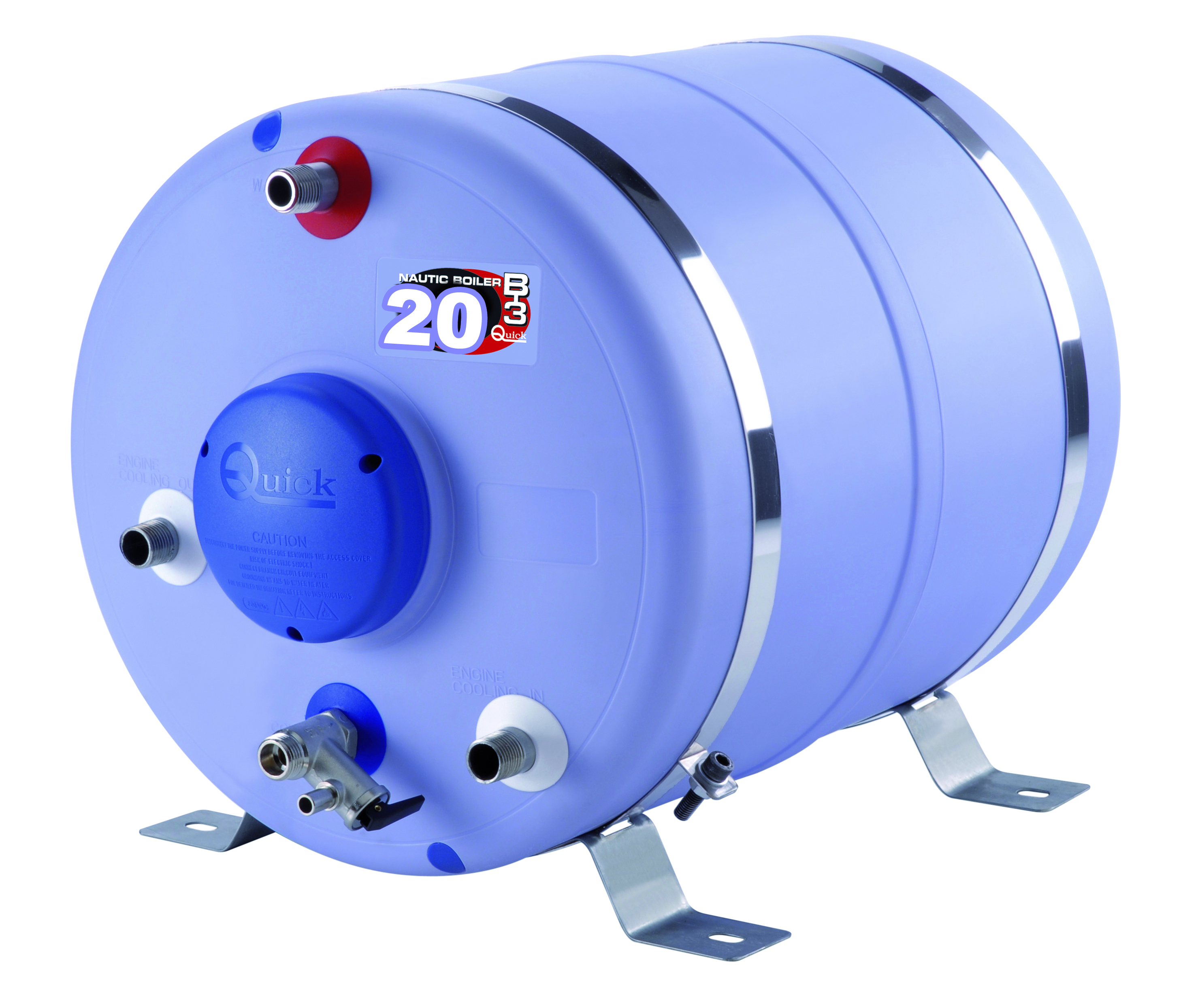 Varmvattenberedare 20 l cylindrisk
