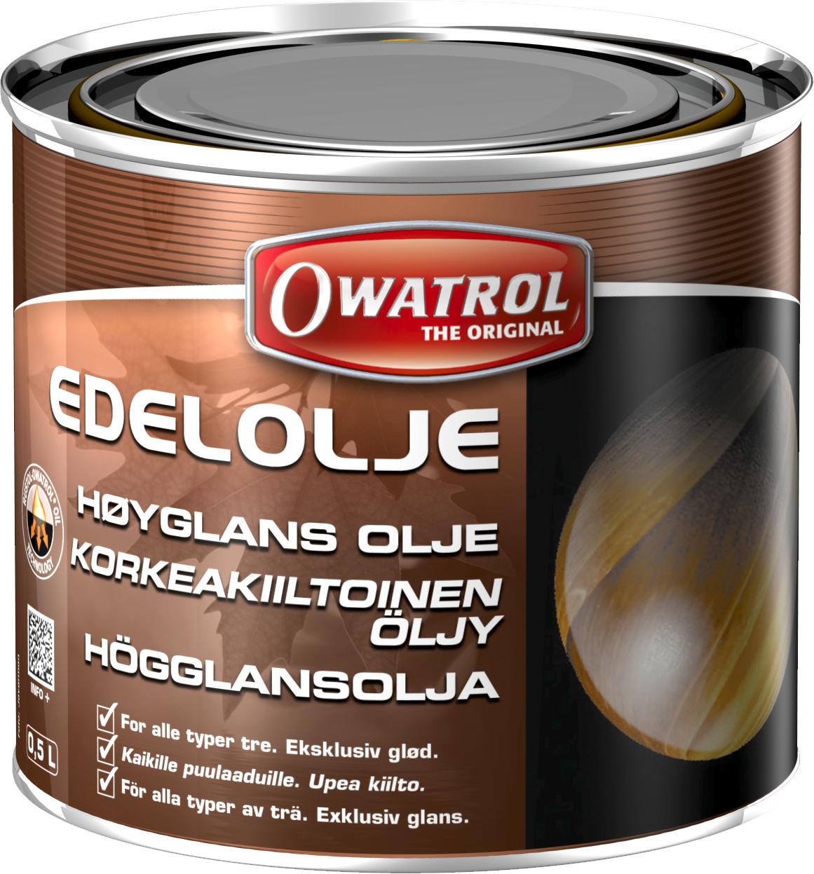 Owatrol ädelolja 05 l