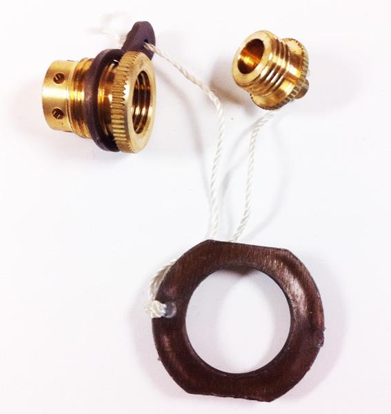 Ventilskruv gummib. 17911
