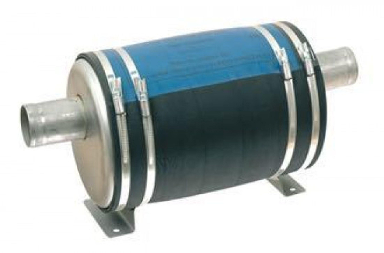 7.5l 60mm vattenkyld ljuddämpare typ a