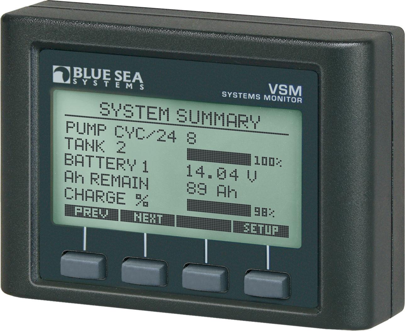 Battery Monitors For Boats : Systemovervåking installasjonsmateriale v
