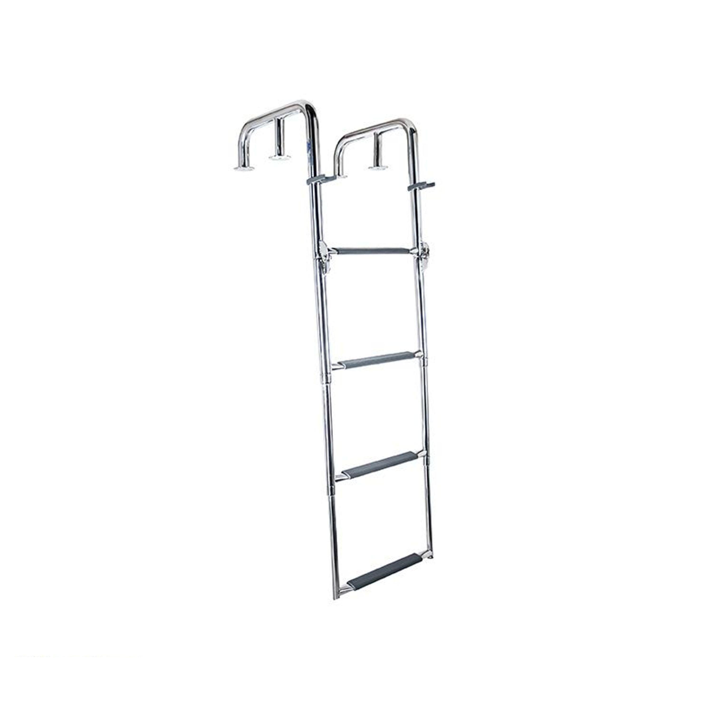 Stege uppfällbar m låga handtag, 4 steg, 1200 mm