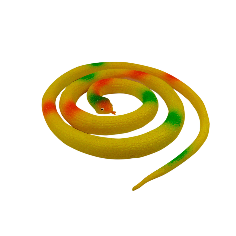Fågelskrämma, orm 105 cm, gul