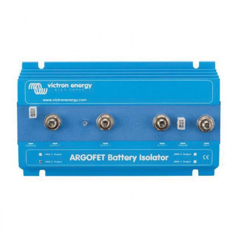 Batteriisolator victron argofet 100a 3 utg 12/24v