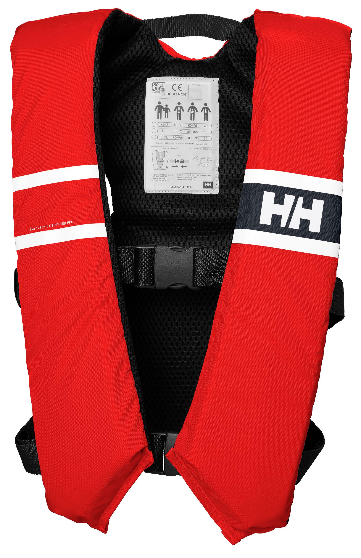 Helly hansen flytväst comfort compact röd 70-90kg