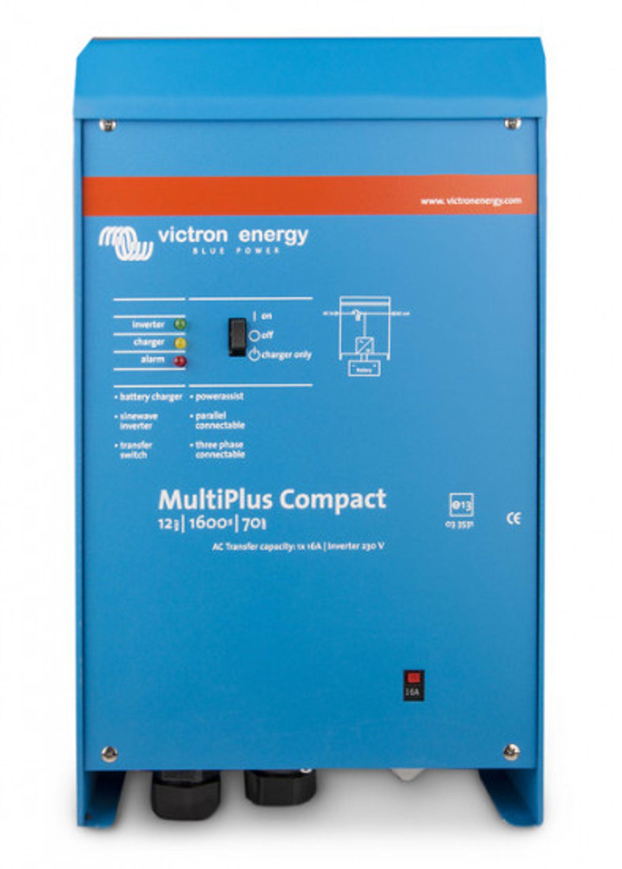 Batteriladdare/inverter victron multiplus compact 12v 700w/35-16a