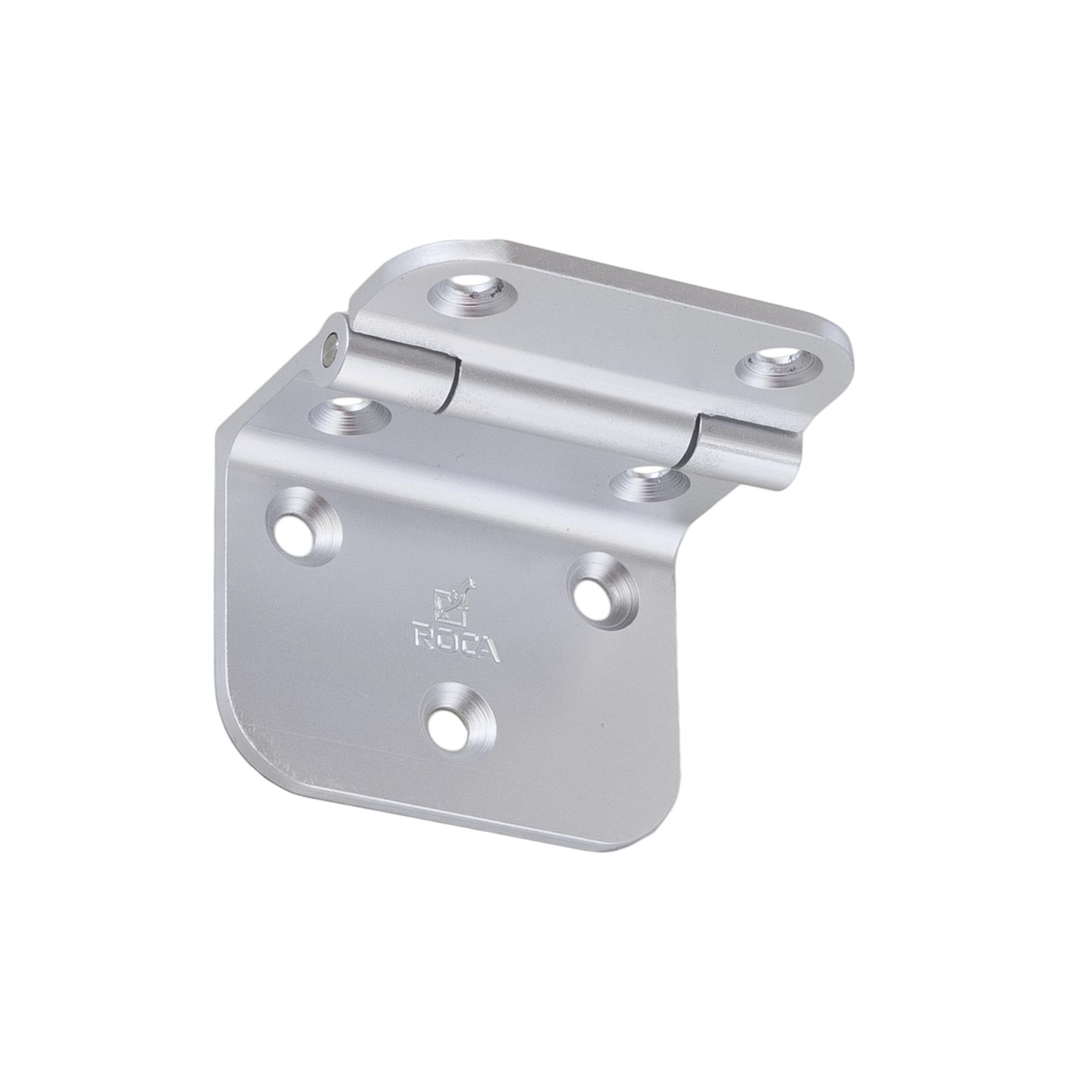 Rakego gångjärn aluminium natureloxerad