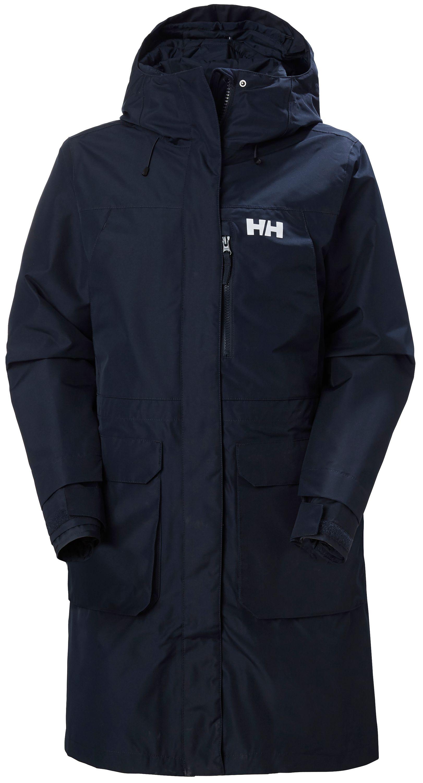 Helly hansen rigging coat dam strl xs marinblå