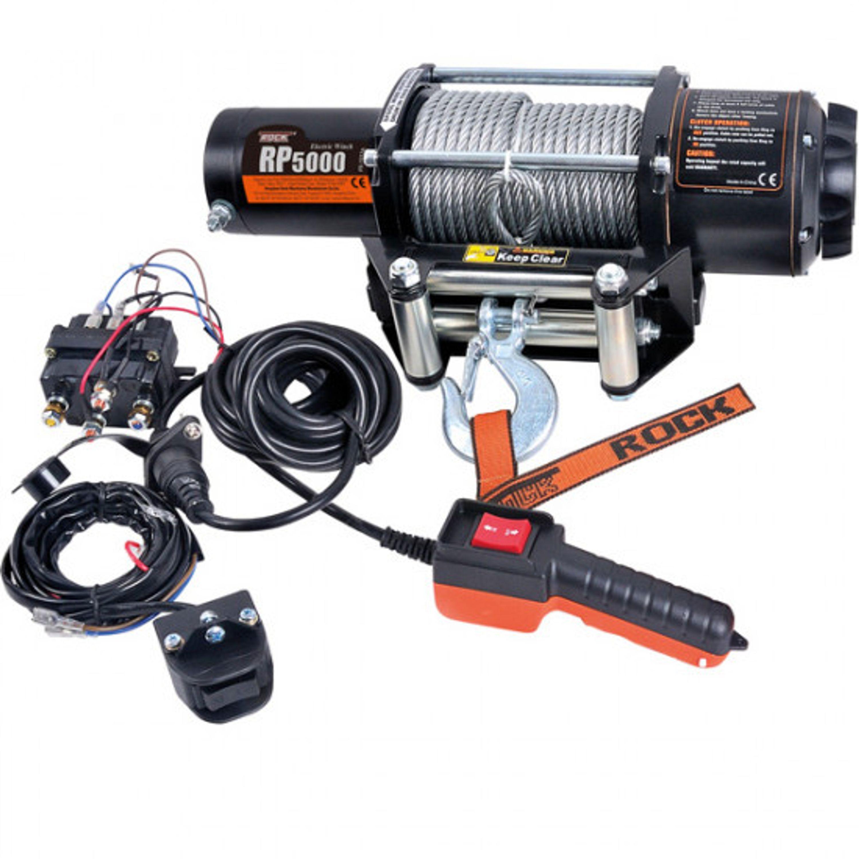 Trailervinch elektrisk rock rp5000 12v 2800w max dragkraft