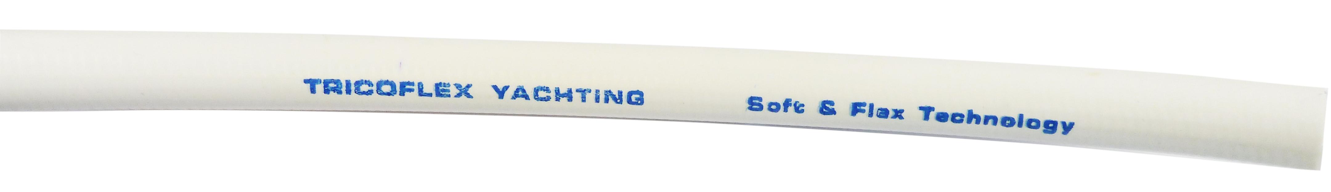 Marin vit arm. pvc-slang vit 13mm 15m/k